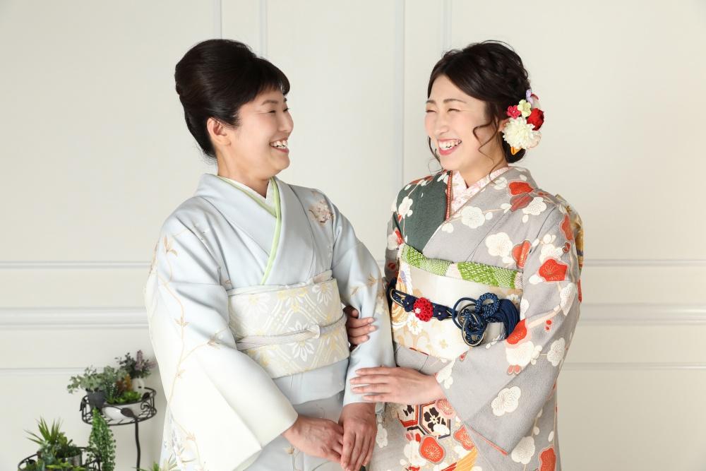 【母と娘】衣替え【記念撮影】