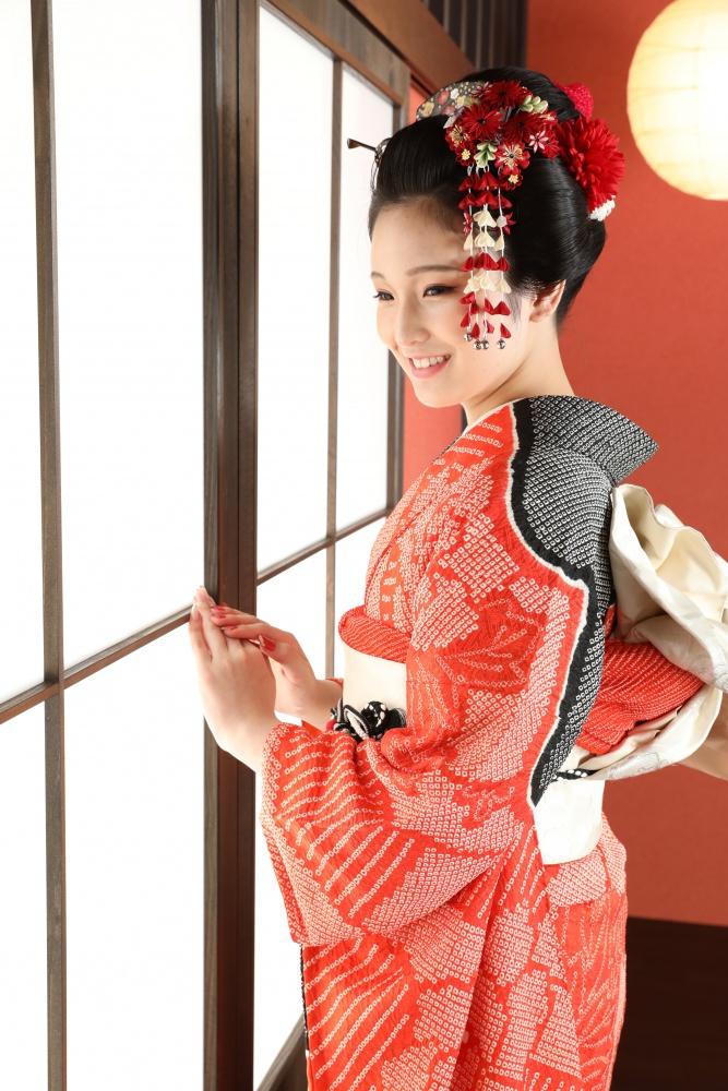 【成人式前撮り】素晴らしき日本髪【振袖】