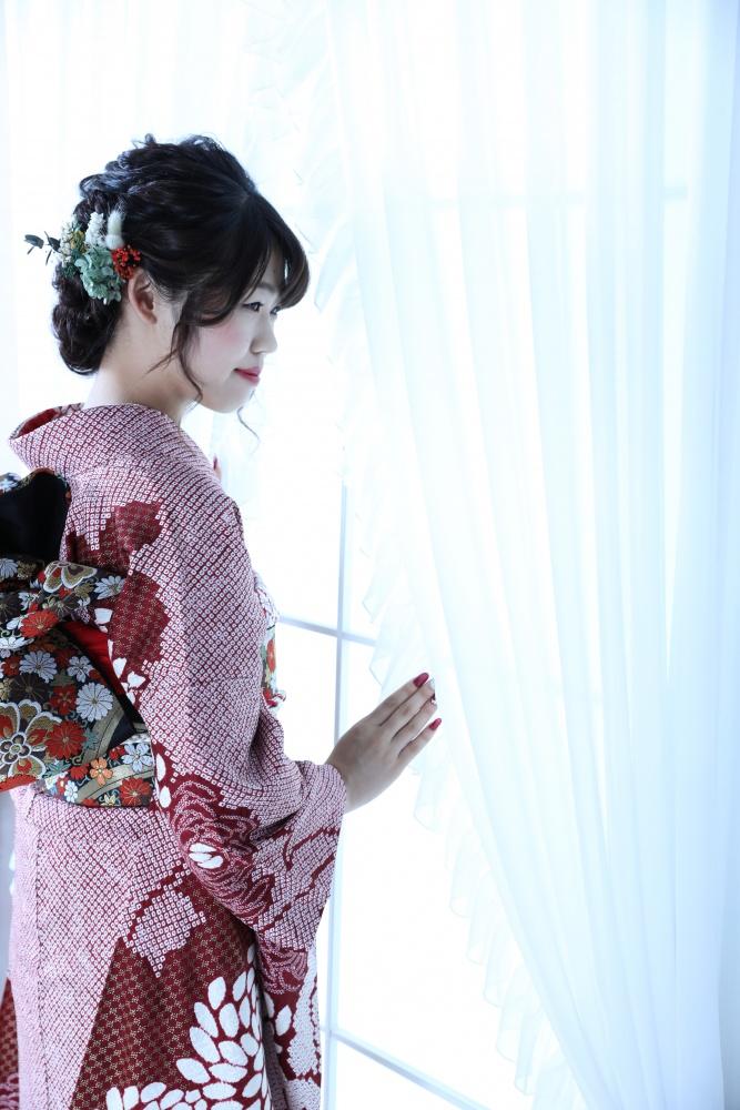 【成人式前撮り】夏の花【振袖】